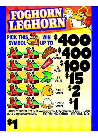 Foghorn Leghorn Cashboard - QB90