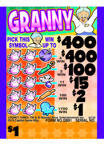Granny Cashboard - QB91