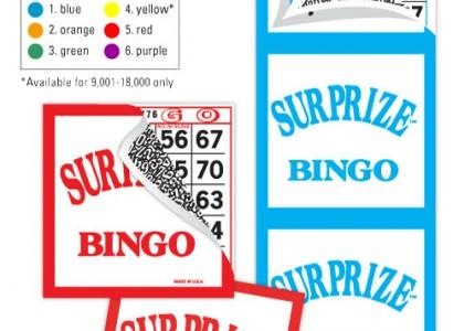 Surprize Bingo Paper
