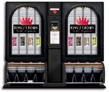 King's Crown Ticket Dispenser