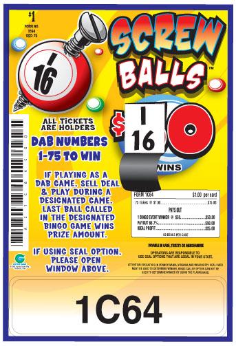Screw Balls - 1C64