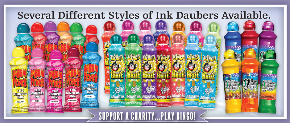 Rocky Mountain Bingo – Several different styles of ink daubers available! Support a charity … play bingo!